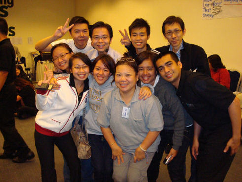 Shun Jian, Stuart and some participants of The Patterns of Excellence program