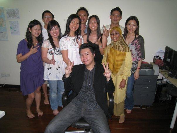 Graduates from Shun Jian's Ready, Fire, IM! Workshop