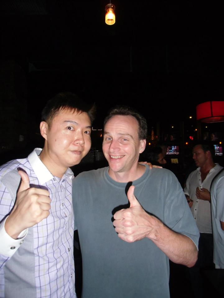 Bob Doyle with Yee Shun-Jian