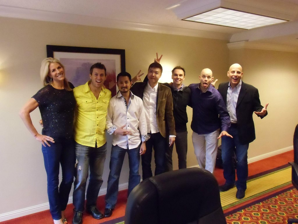 Yee Shun-Jian With Brendon Burchard and his top affiliates, including JJ Virgin, Christian Mickelsen, John Barry, Sean Smith and Randy Gage