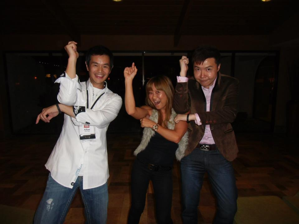 Doing the Gangnam Style with Allan Ting and Dr. Susanne Bennett