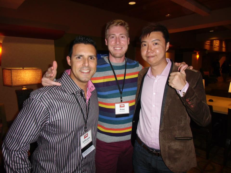 Jefferson Santos, Jesse Krieger and Yee Shun-Jian