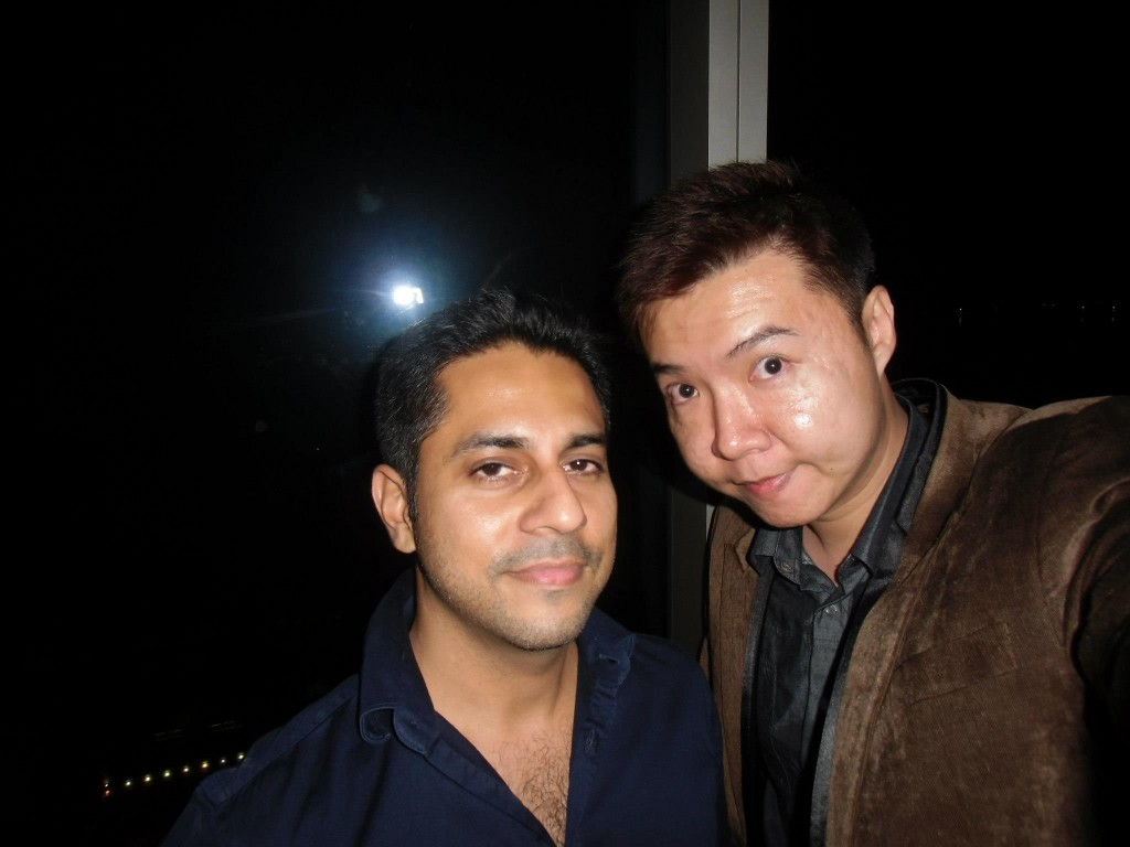 Vishen Lakhiani with Yee Shun-Jian