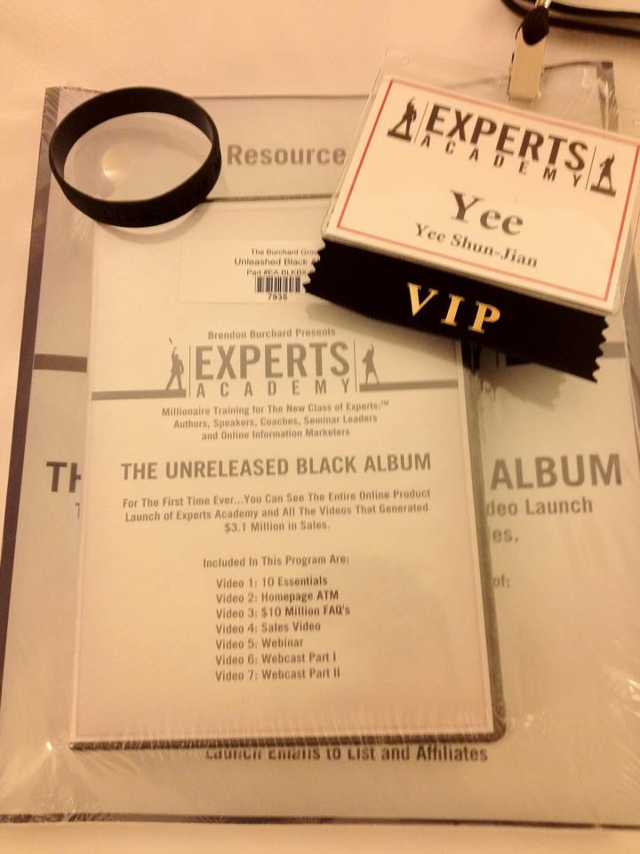 Experts Academy VIP Experience