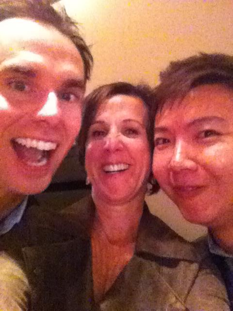With Brendon Burchard and Marcia Wieder